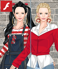 Street Style Girl Dress Up Game