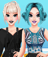 My Perfect New Years Party Dress Up Game