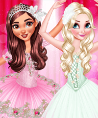 BFF Ballerinas Dress Up Game