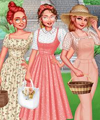 Egirlgames Cottagecore Dress Up Game
