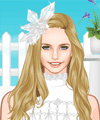 Crystal Queen Dress Up Game