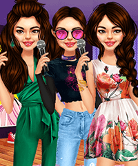 Selena Gomez Outfit of the Day Dress Up Game