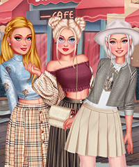 Design My Pleated Skirt Dress Up Game
