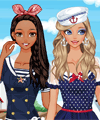 Nautical Girls Dress Up Game