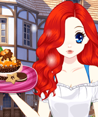 Princess Afternoon Desserts Dress Up Game
