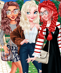 My Back to School Nails Design and Dress Up Game