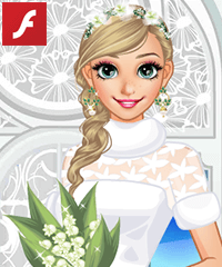 Anna Winter Bride Dress Up Game