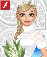 Anna Winter Bride Dress Up Game