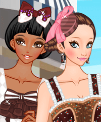 Chocolate Girls Dress Up Game
