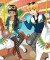 Lovely Circus Ride Dress Up Game