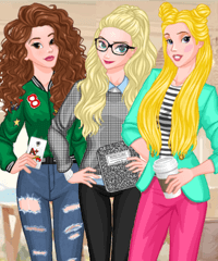 Back to School Fashion Trends Dress Up Game