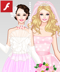 Barbie Spring Wedding Dress Up Game