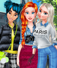 Ariel Street Trend Spotter Dress Up Game