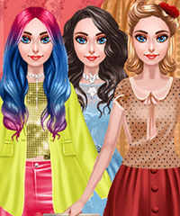 Pearl Vintage vs Glam Dress Up Game