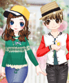 His and Hers Dress Up Game