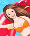 Fruity Pool Dress Up Game