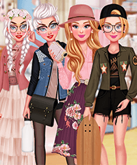 Princesses Girly vs Tomboy Dress Up Game