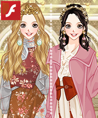Royal Style Mori Dress Up Game