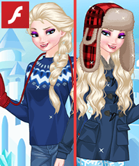 Elsa Tour Guide Dress Up Game