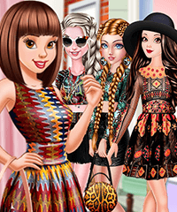 Disney Princesses Crazy Patterns Dress Up Game