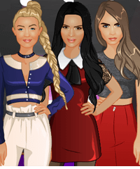 Celebs BFF Studio Dress Up Game
