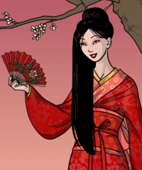 Geisha Dress Up