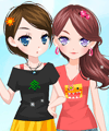 Pretty Pretty Colors Dress Up Game