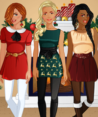 BFF Studio Christmas Party Dress Up Game