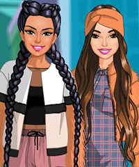 Long Hair Friends 2 Even Longer Hair - Dress Up Game