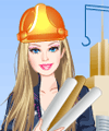 Barbie Architect Dress Up Game