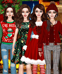 Bonnie Christmas Parties Dress Up Game