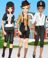 Horse Fan Girls Dress Up Game