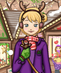 Christmas Market Dress Up Game