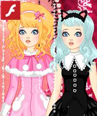 Gothic Lolita Girl Fashion Game