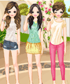 T-Shirt Friends Dress Up Game