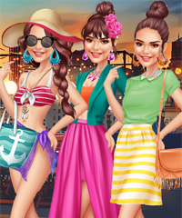 Kendall Jenner Summer Fun Dress Up Game