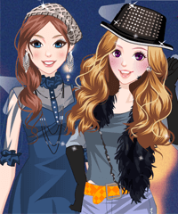 Modern Stage Dress Up Game