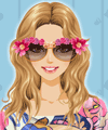 Fancy Floral Sunglasses Makeover Game