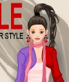Pretty Cover Model Dress Up Game