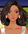 Flower Shop Make Up and Dress Up Game