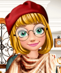 Rapunzel Autumn Fashion Story Dress Up Game