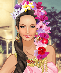 A Trip to Bangkok Dress Up Game