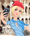 Selfie in Rome Dress Up Game