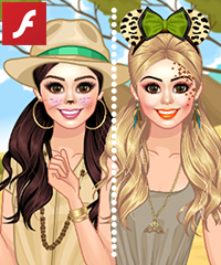 Animal Kingdom Dress Up Game