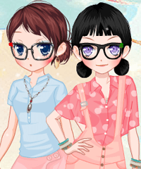 Ice Cream Girls 2 Dress Up Game