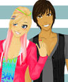 Scene Couple Dress Up Game