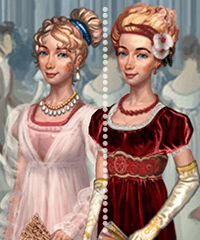 Regency Bella Dress Up Game