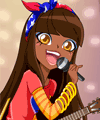 Talia from LoliRock Dress Up Game