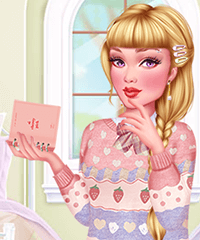 Pastel Academia Dress Up Game