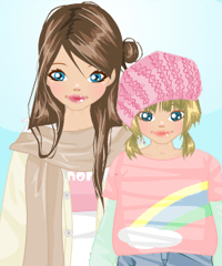 Mothers Day Dress Up Game